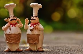 gastronomy Funny Chefs Figures