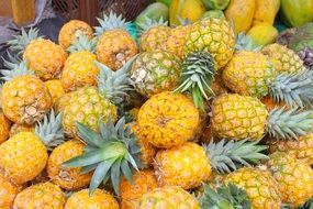 Pineapple Yellow Fruit