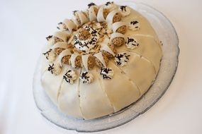 marzipan cake for the holiday