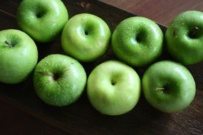 appetizing attractive Green Apple Fruit