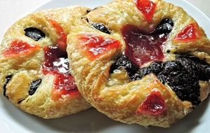 appetizing Danish Pastry Cherry