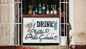 alcoholic beverages in cuba