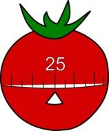 Timer tomato 25 drawing