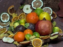 beautiful delicious Still Life Fruits