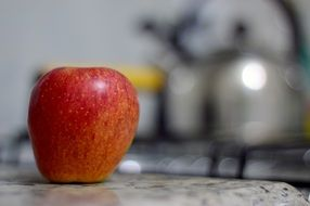 apple as a healthy snack