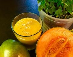 sweet melon smoothie