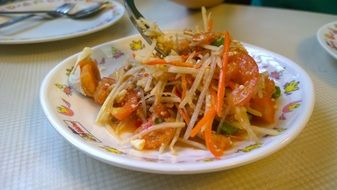 palatable Green Papaya Salad