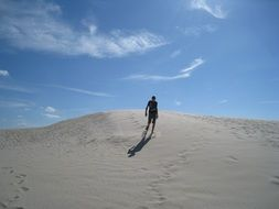 dune to berg mile in jutland