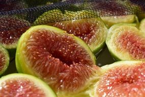 ripe juicy figs