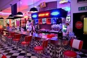 Picture of American Diner restaurant