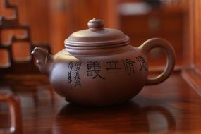 Traditional ceramic tea Pot
