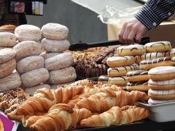 Picture of Donuts and croissants