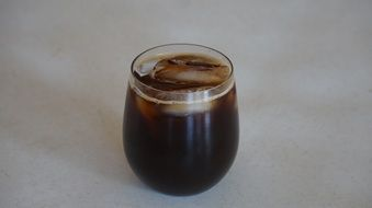 cup of coffee with ice