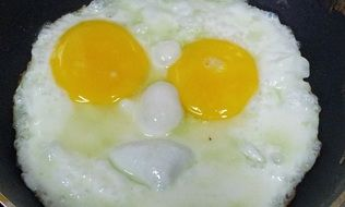 fried two-eggs