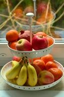 fruit in a bowl for a healthy snack