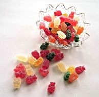 soft sweet fruit candy