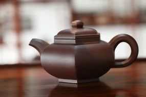 Traditional brown Pot Tea