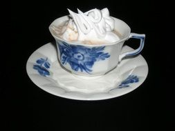 Cocoa Cup with cream