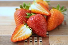 strawberries for a delicious breakfast