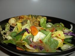 Meal Quiche Salad