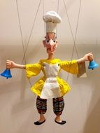 Chef Cook Marionette