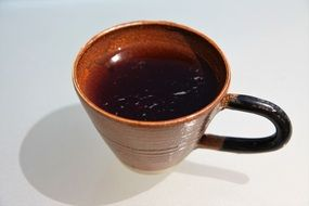 dark Coffee Drink Cup