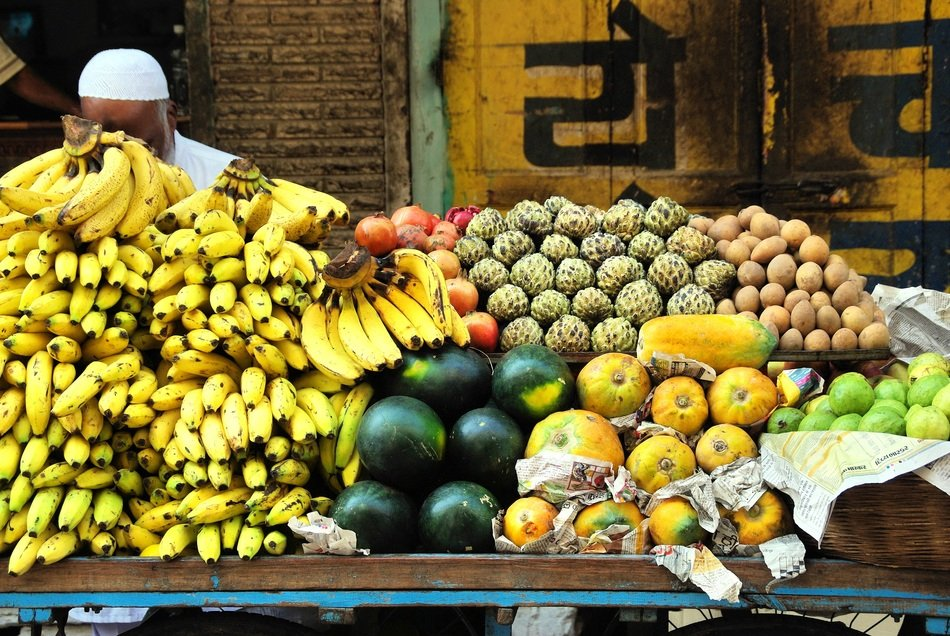 India fruit market