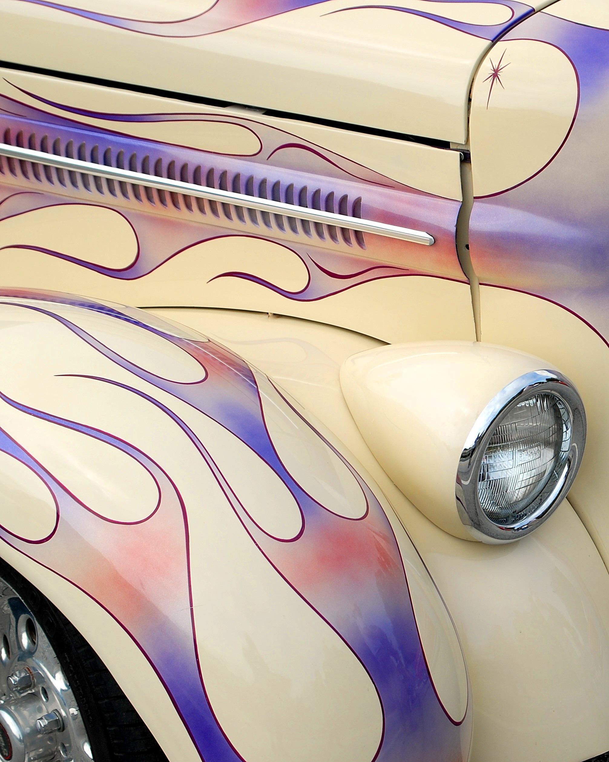 Pin Stripe Car Automobile