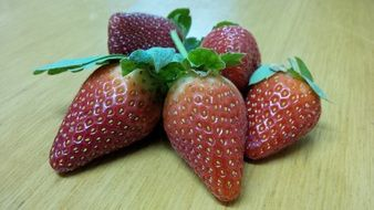 Red Fresh Organic Strawberry