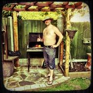 Summer Barbecue man