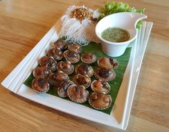 Scallop Seafood Food Delicious