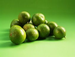 healthy Lime Green