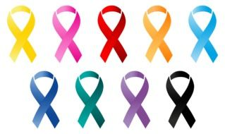 oncology Ribbons drawing