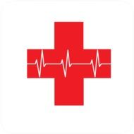 red cross as a symbol of first aid