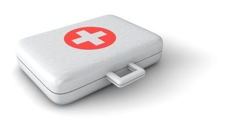 white doctor\'s suitcase
