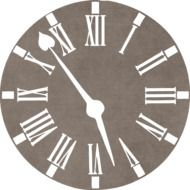 Clock Time Ornament drawing