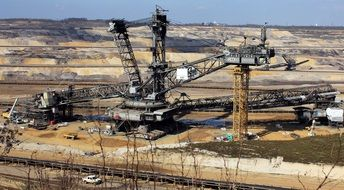 Open Pit Mining Raw Materials