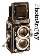brown vintage camera as antique