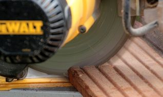 crosscut saw close up