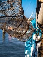 fishing nets like a trap