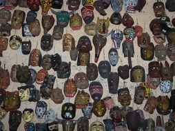 masks of different types in guatemala