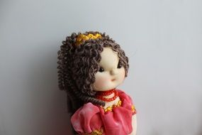 handmade textile baby doll