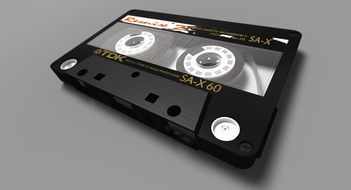 tape cassette with magnetic tape