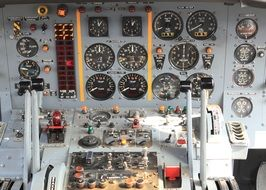 fighter control panel