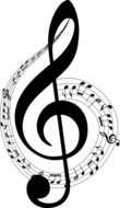 musical sign treble clef