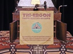 vintage device for records