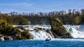 Rhine Falls Waterfall