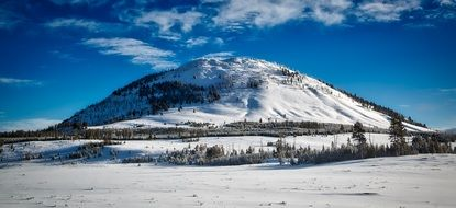Bunsen Peak is a peak in Yellowstone National Park, Wyoming