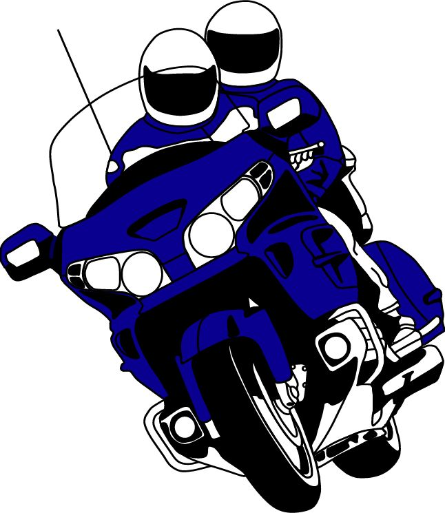 goldwing motorcycle clipart  Honda Motorcycles Goldwing Cliparts free image