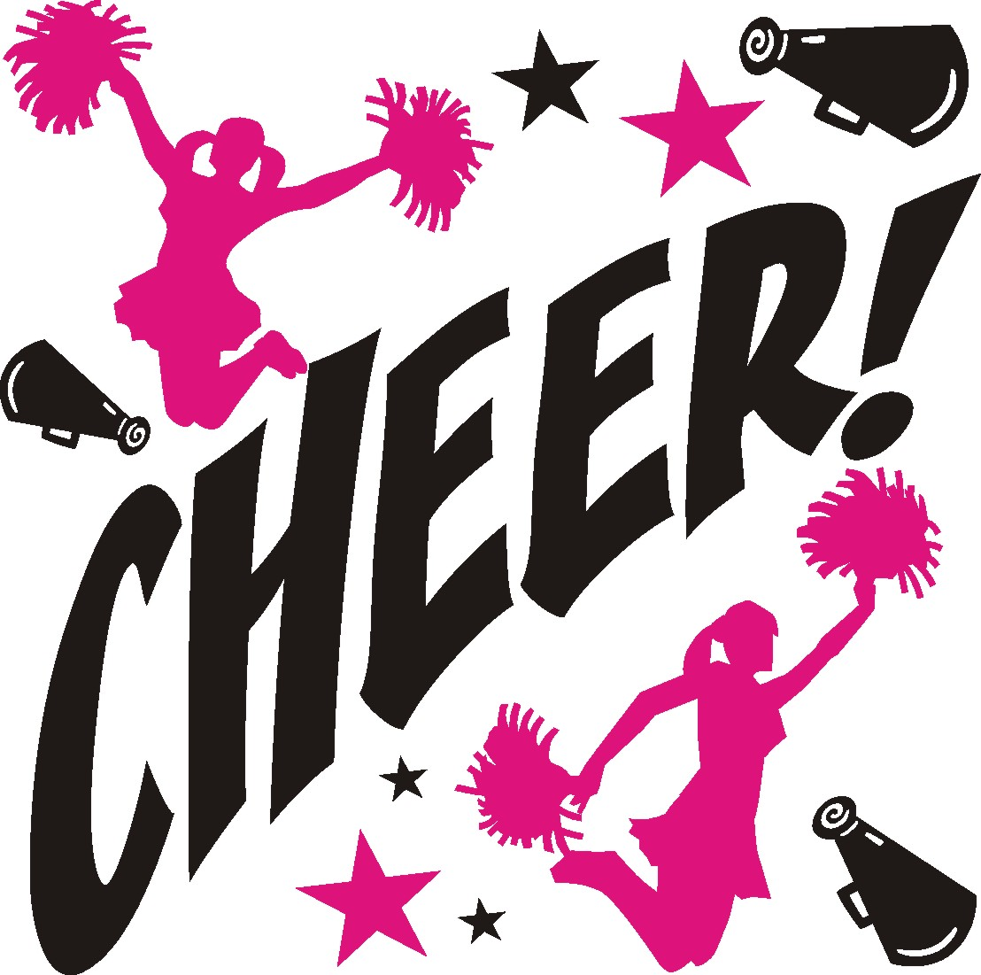 Silhouette Cheerleading Download Clip art - Heel Stretch Cliparts png  download - 800*800 - Free Transparent Silhouette png Download. - Clip Art  Library